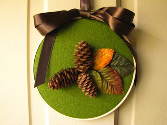 things to make with pine cones