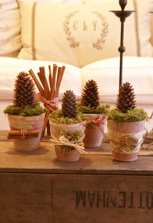 pine cone craft projects