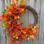25 Gorgeous DIY fall door wreaths