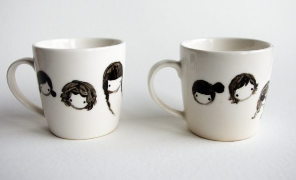 ceramic diy painting mugs
