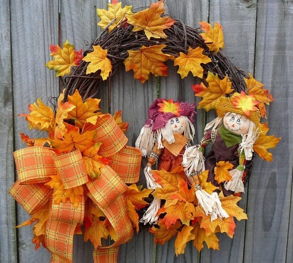 fall wreath ideas diy