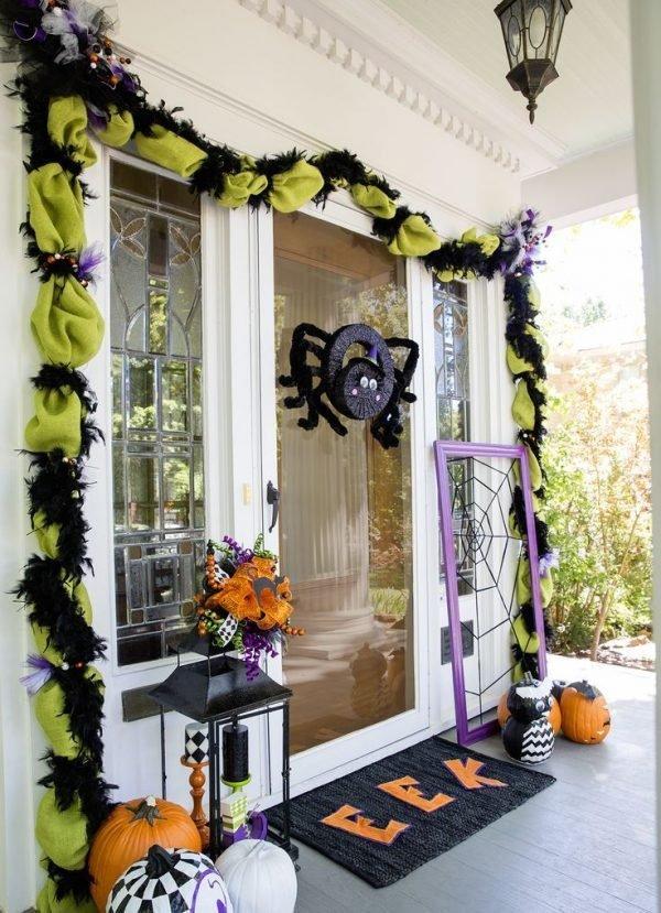 front porch halloween
