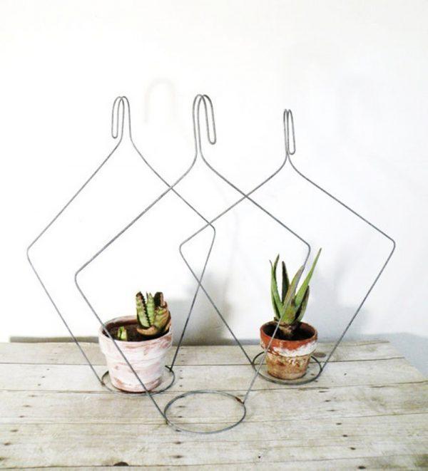 Wire Hanger Art Diy