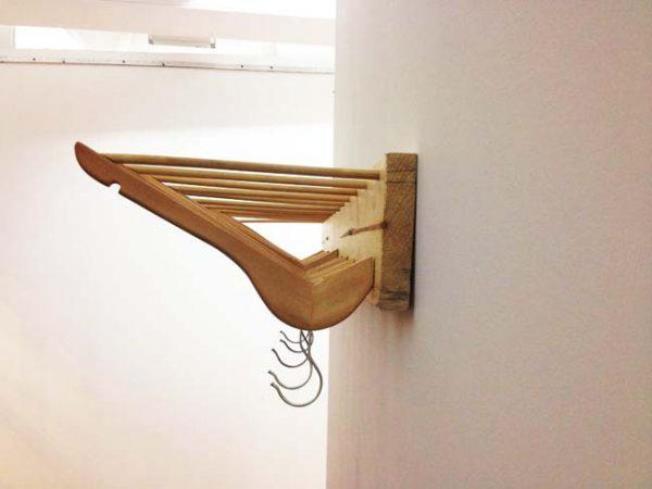 wooden hanger craft ideas
