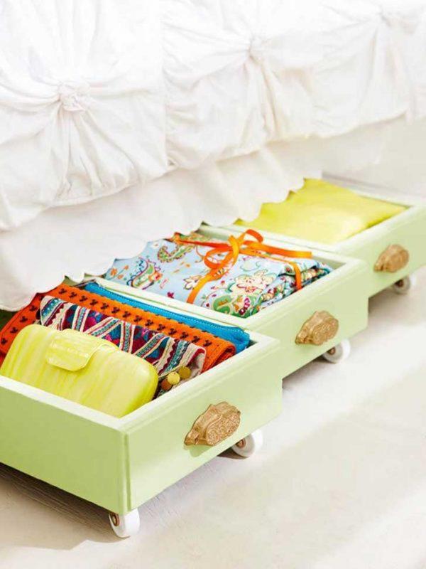 underbed storage drawers