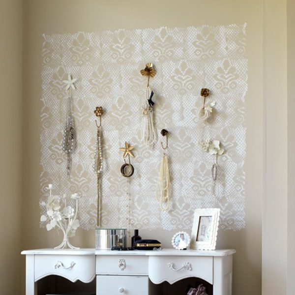 lace wall art
