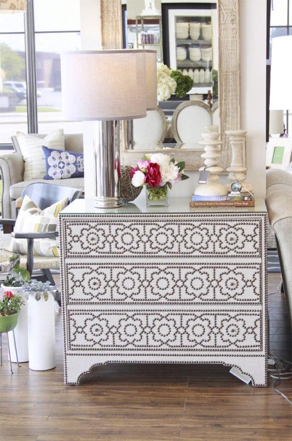 Add Nailhead Trim Accent - Furniture Design Trend