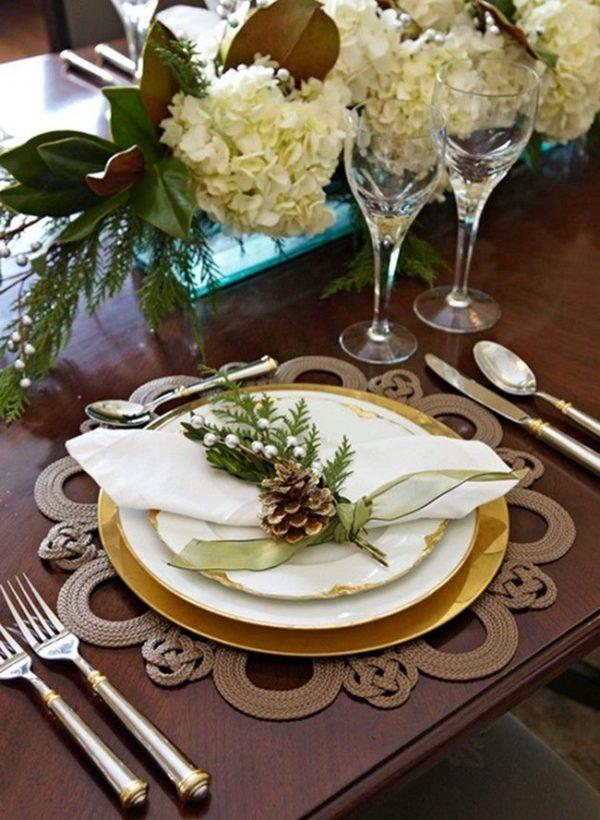 Cool placemats for table settings