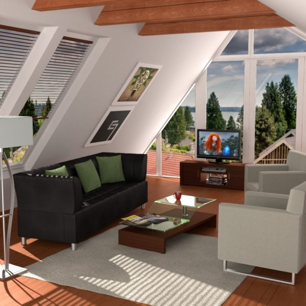small attic room ideas