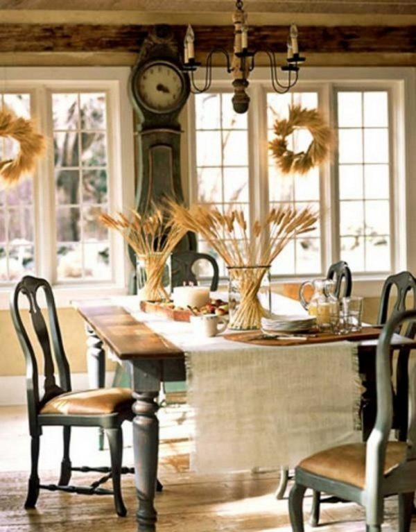 ideas for thanksgiving table