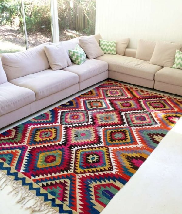 Beautiful Rooms with Kilim Rugs