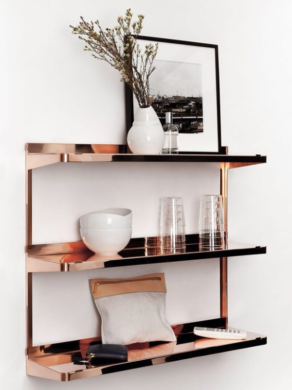 copper home decor and accessories