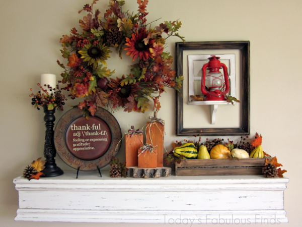 Thanksgiving Home Decorations Ideas Little Piece Of Me