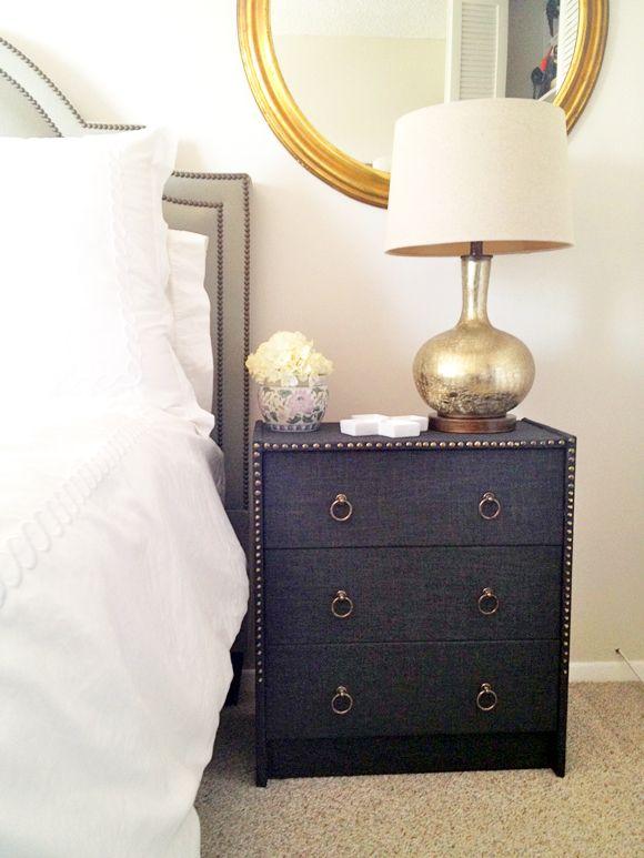 nailhead nightstand