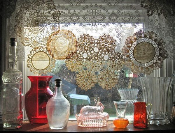 decorating with lace 1
