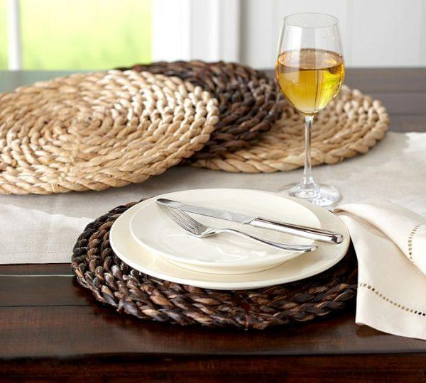 Placemats For Elegant Table Settings
