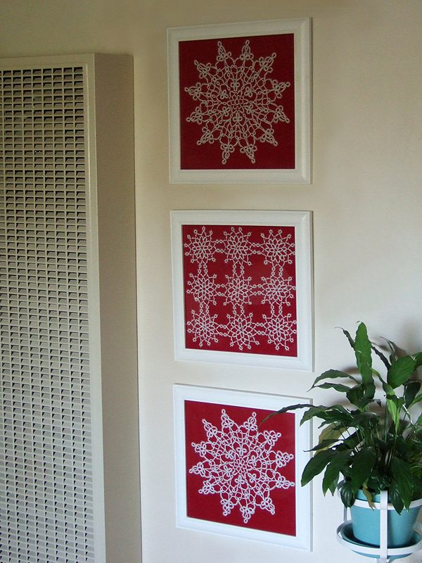 lace wall art 1