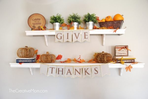 ideas for thanksgiving