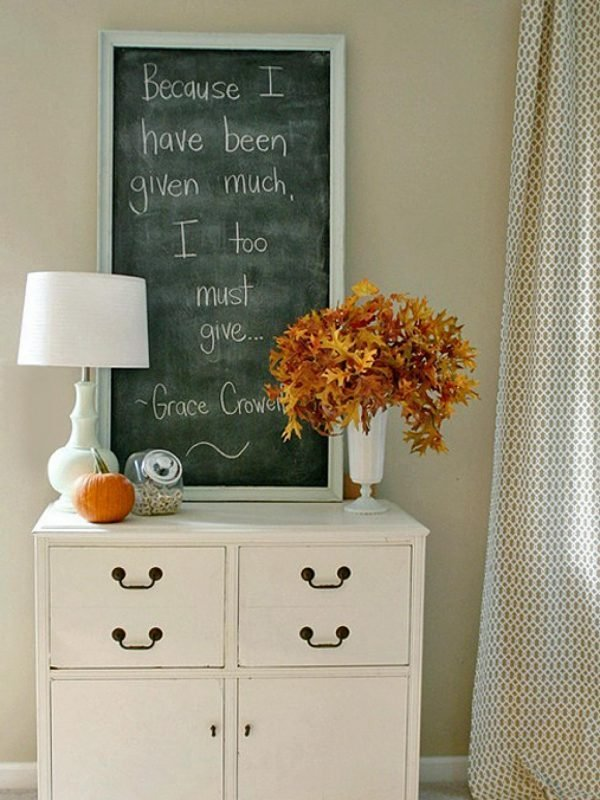 thanksgiving home decoration
