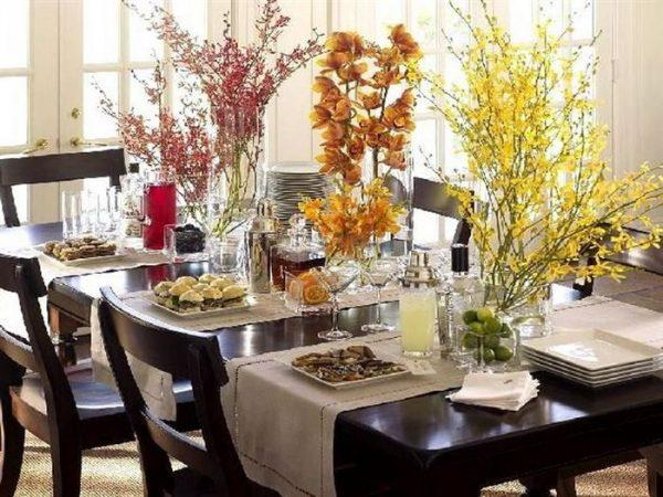 Thanksgiving table decoration ideas - Little Piece Of Me