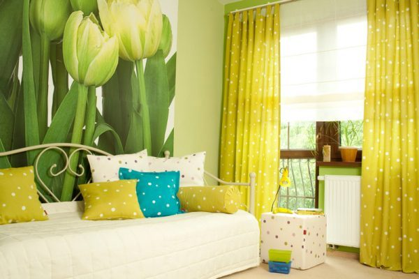 Polka dot home decor