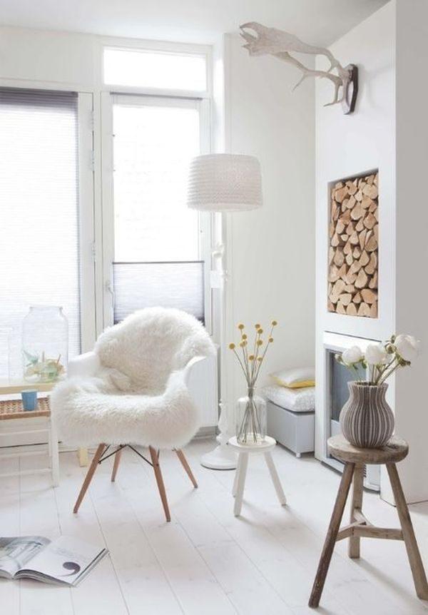 fur chair cover1