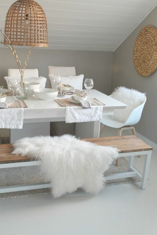 Fur touch in interior design1