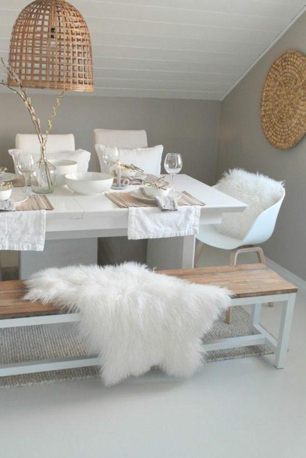Fur touch in interior design1