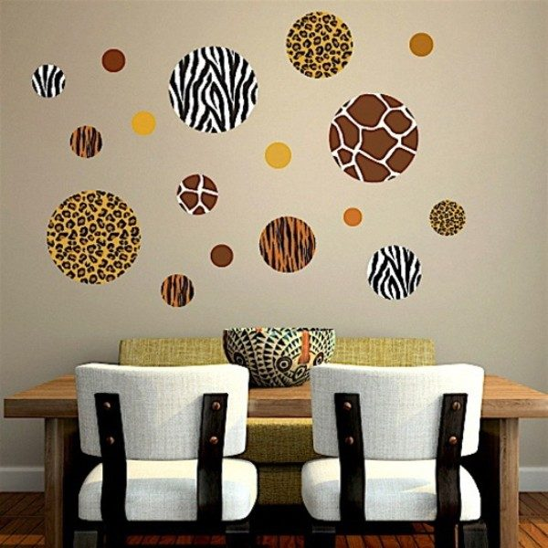 polka dot wall decal
