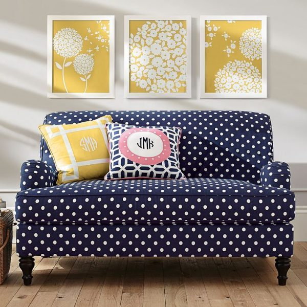 polka dot furniture