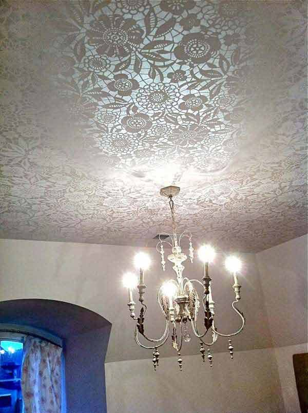lace home decor