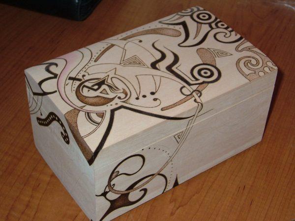 pyrography boxes
