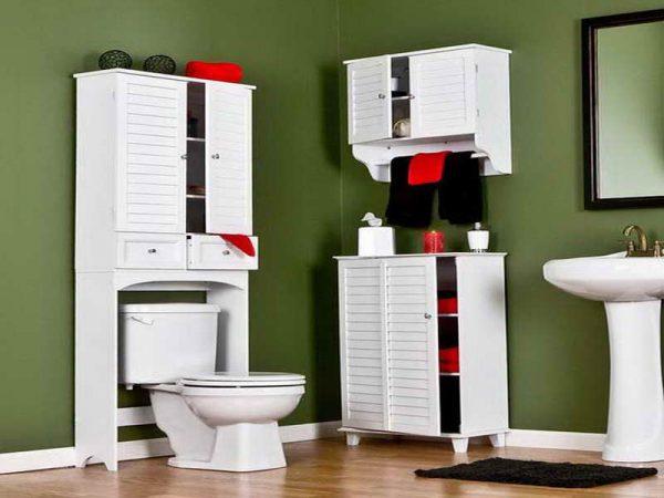 Bathroom Storage Over The Toilet