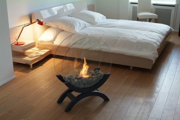 Bio fireplaces for modern interiors