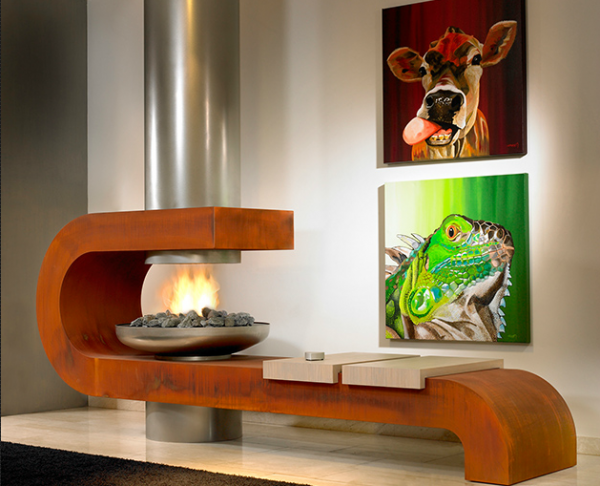 bio flame fireplaces