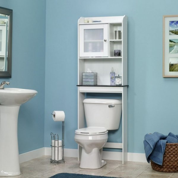 bathroom storage cabinets over toilet