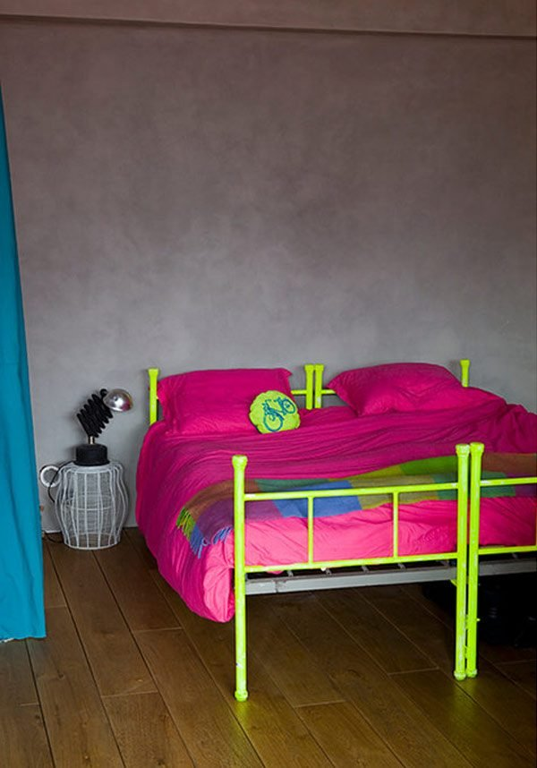 neon bedroom decor