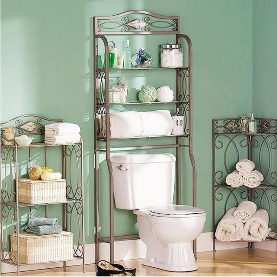 over the toilet organizer