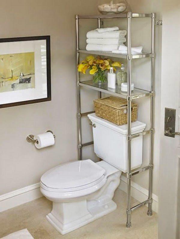 bathroom storage ideas over toilet