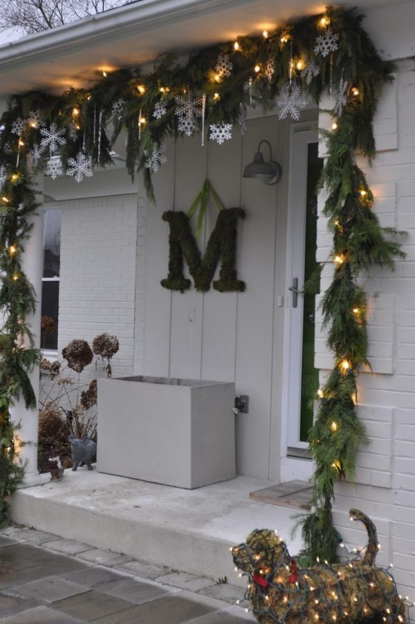 Decorating Ideas For Living Rooms With Beige Walls: Outdoor Christmas Decorating Ideas