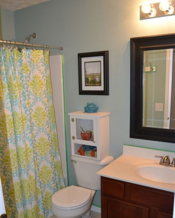 Turquoise Bathroom Decorating Ideas Astonishing Small Bathroom. Bathroom Ideas With Blue Walls