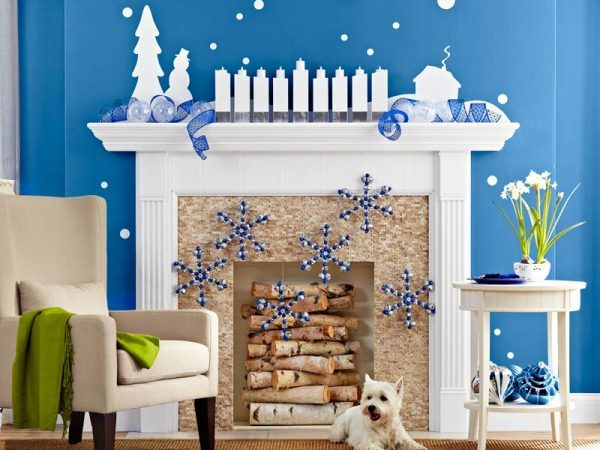 beautiful mantel christmas decorations