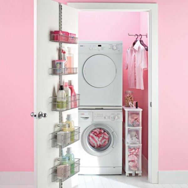 Small laundry room solutions little piece of me - Laundry storage solutions for small spaces photos ...