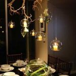 DIY Tree branch chandelier ideas