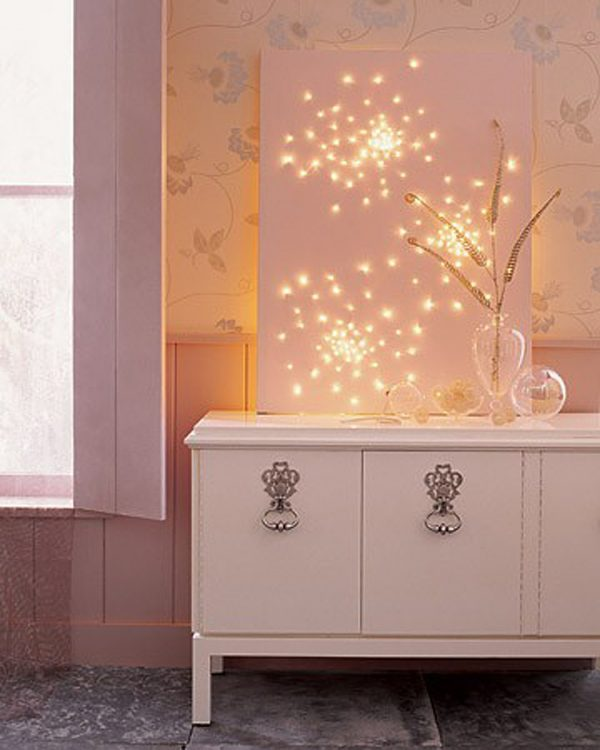 Affordable home decor : Christmas lights and decorations