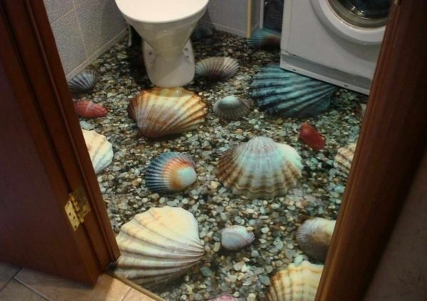 3d bathroom flooring
