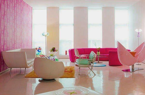 neon living room