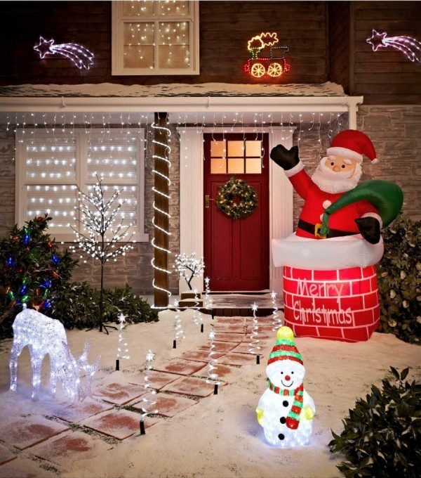 outdoor christmas yard decorations