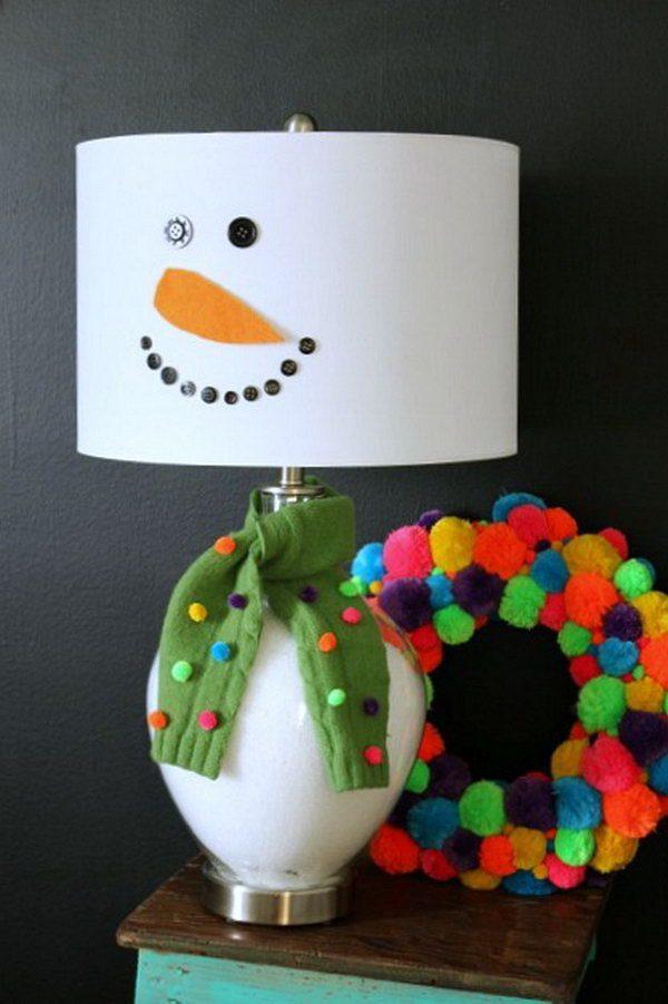 Snowman christmas crafts