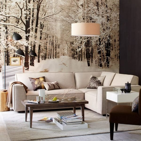 winter themed decorations